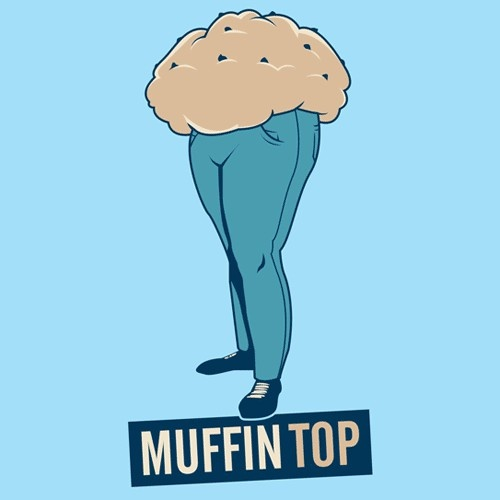 muffin top healthy-me