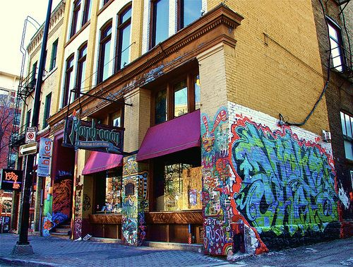 Mondragon Bookstore & Coffee House, Winnipeg.