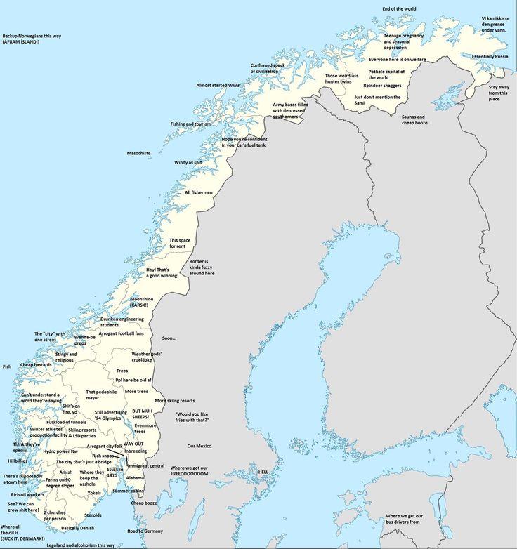 norweigan regional stereotypes x post rmapporn