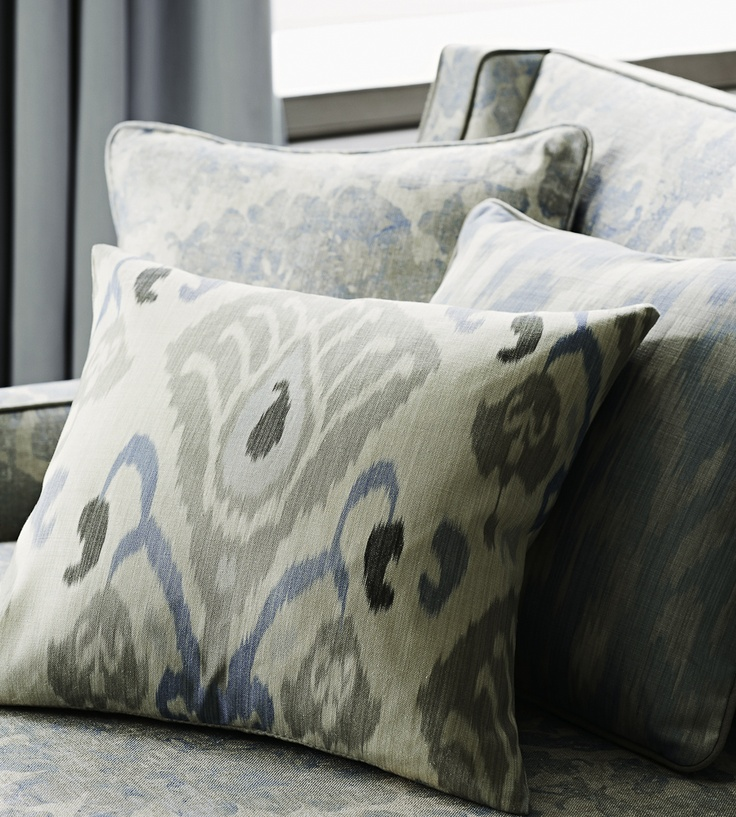 Interior Trends, Ikat Patterns | Annapurna Fabric by Zoffany
