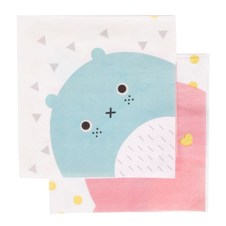 Noodoll Napkins (20 Pack) – Lucky Lulu Party Shop