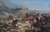 """Adolphe  Yvon  """"Bataille de Solferino"""" 1861 Compiegne - Adolphe Yvon — Wikipédia"""