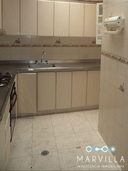 """El """"ANTES"""" de la cocina de un apartamento"""
