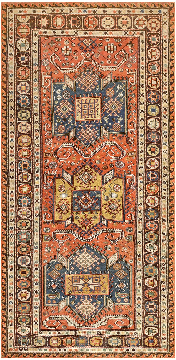Antique Caucasian Soumak Rug 47147 Main Image - By Nazmiyal