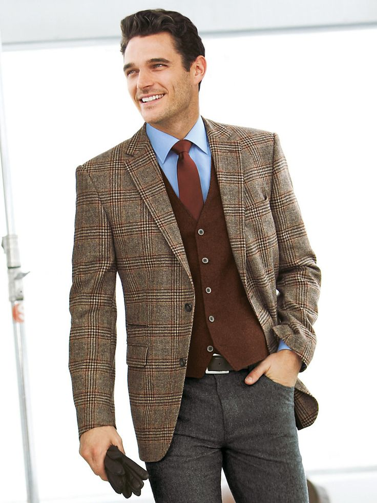 Brown Sports Jacket