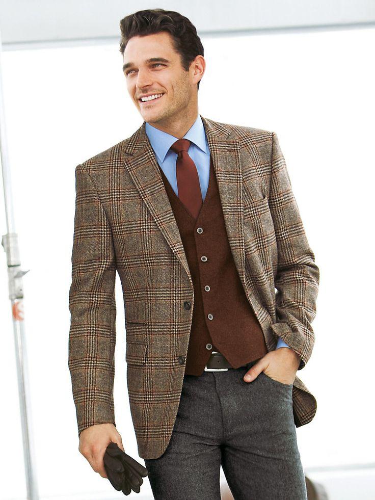 Brown Sports Jacket