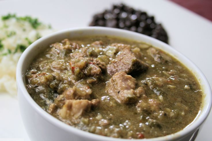 Traditional New Mexican Style Green Chile Stew (Guisado de Chile) from I am New Mexico, November 18, 2015