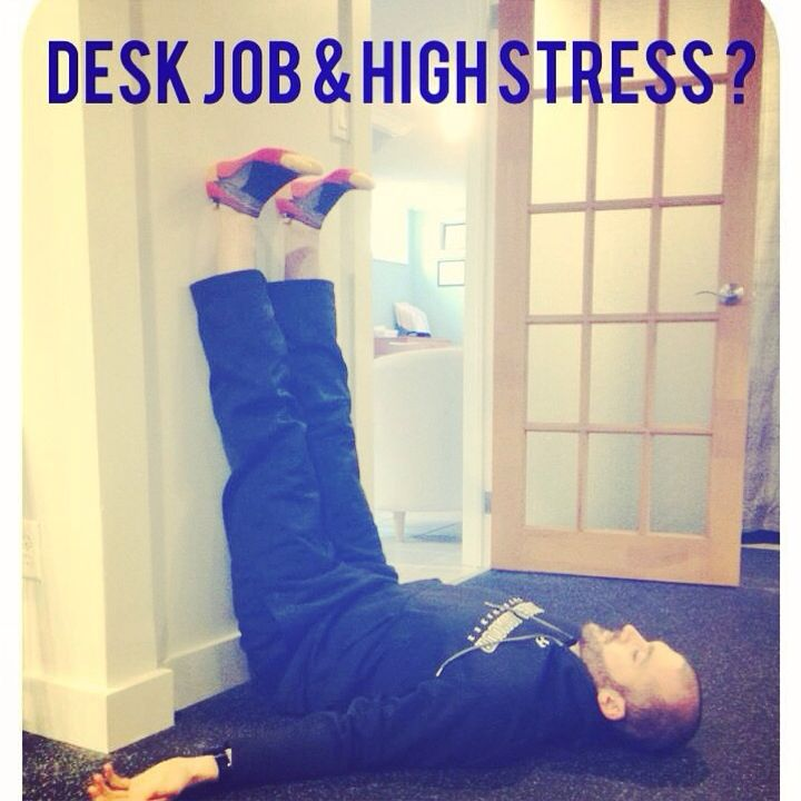 High stress? Try 4 mins in static wall