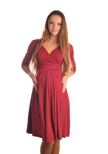 Maternity Dress Smart Casual V Neck Soft Stretch Day Office or Evening in Black or Cappuccino colour. (Large, Hot Pink) has been published on http://www.discounted-baby-apparel.com/2013/09/11/maternity-dress-smart-casual-v-neck-soft-stretch-day-office-or-evening-in-black-or-cappuccino-colour-large-hot-pink/
