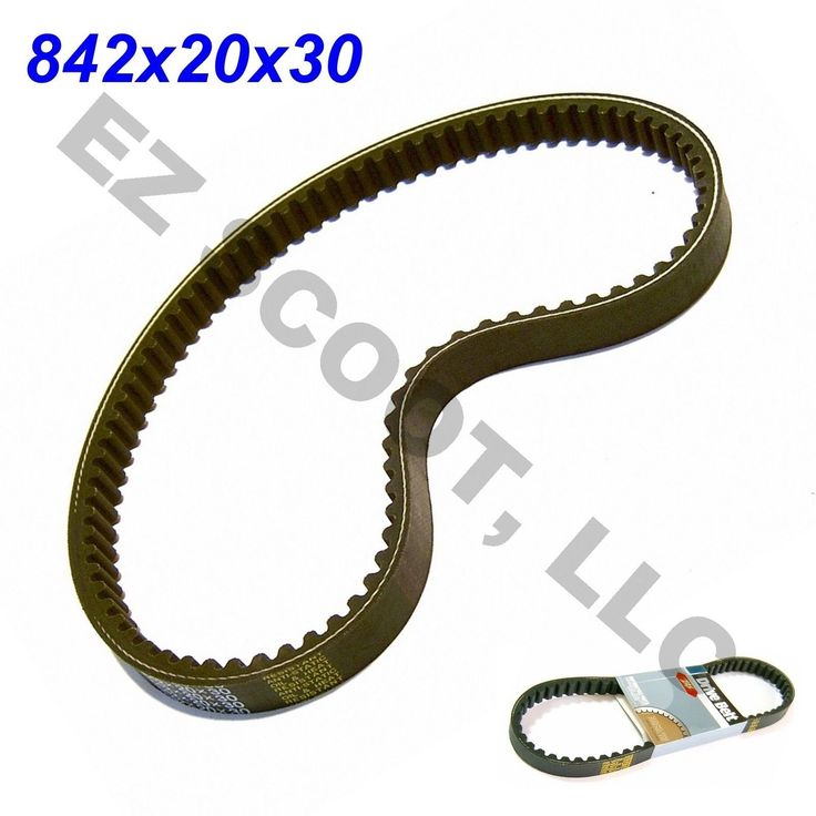 842 20 30 Drive Belt GY6 4 Stroke Scooter 125 150 CC 152QMI 157QMJ Kazuma Vento | eBay
