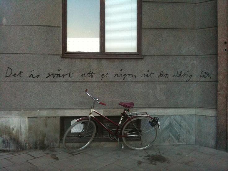 Wall art, Hornstull Stockholm Sweden