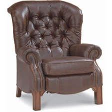 Lazy Boy leather chair...  Looks very comfy!