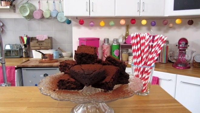 Red velvet brownies - recept | 24Kitchen
