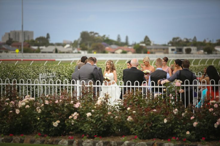 Newcastle Jockey Club wedding ceremony