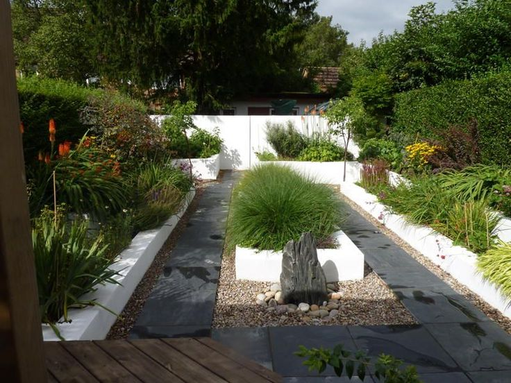 Contemporary garden designs for domestic and commercial for Domestic garden ideas
