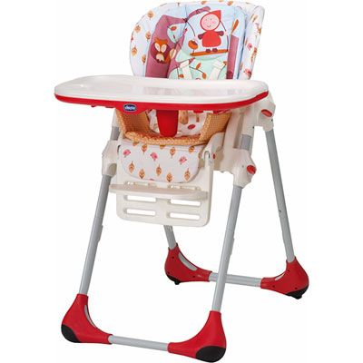 Chicco Chaise haute bébé polly 2 en 1 happy land