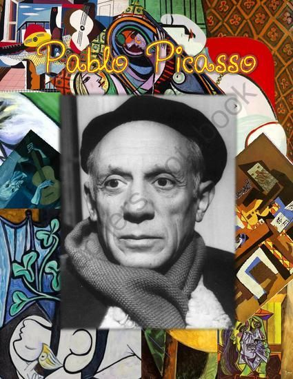 Picasso for Kids from Smart Kids Worksheets on TeachersNotebook.com (36 pages)  - Learn about the 20th century's most influential artist, Pablo Picasso.