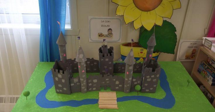 Après avoir découvert les différentes parties du château fort, nous en avons fabriqué un. Tous les amis de la classe ont participé au pro...