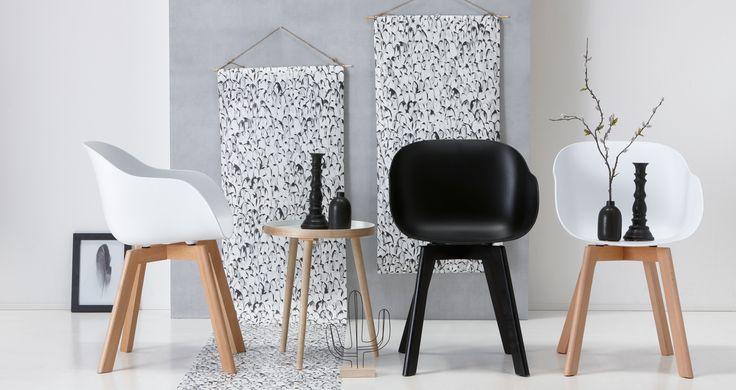 Wel het design, niet de prijs! Stoel NEW YORK shop je voor maar 49,- in diverse kleuren! #stoel #newyork #kwantumbelgie #kuipstoel #wonen #interieur