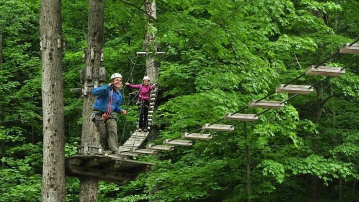 The Tree Top Trekking Course in Barrie, Ontario is great for youth.  Check out SQM's Blog to learn what our president and his daughter thought of their experience.