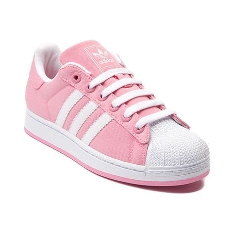 Shop for Womens adidas Superstar Canvas Athletic Shoe in Bahia Pink at  Journeys Shoes. Shop