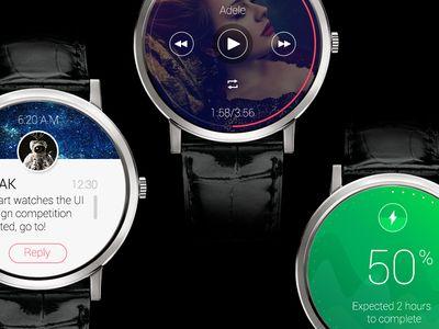 Smart Watch Interface Ui Kit