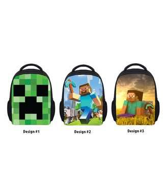 be3c985ab3 Greatest Gift   Collectibles Shop - NEW Minecraft Steve Backpack Kids  School Kindergarten Bag LIMITED