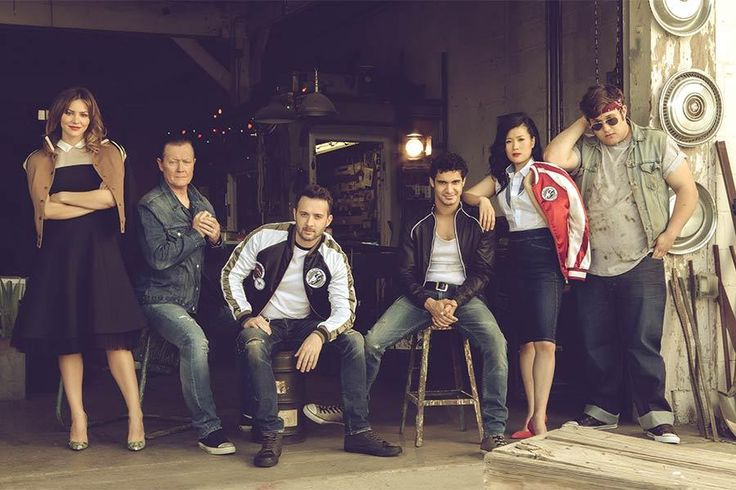 The cast of CBS' Scorpion. THEY ARE TOO BEAUTIFUL FOR WORDS. Garage Band | Television Academy