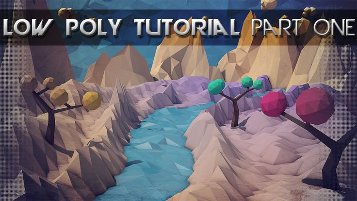 Low Poly Landscape Tutorial | Mountains, Water and More | Cinema 4D