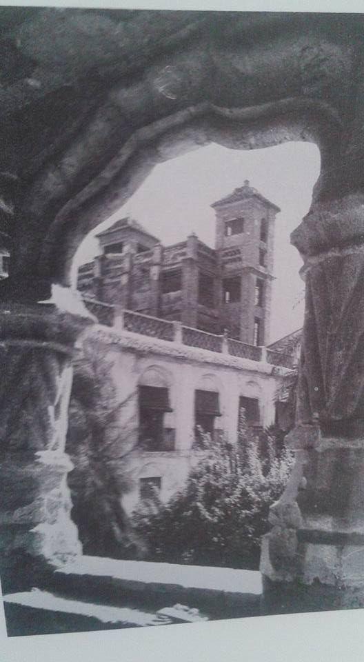 torres de la iglesia Santa Clara La Real, desde el claustro del convento. https://www.facebook.com/photo.php?fbid=954917821282422