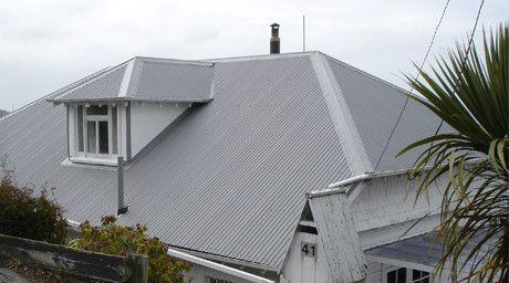 Dimond Corrugate in ColorCote ZinaCore Sandstone Grey