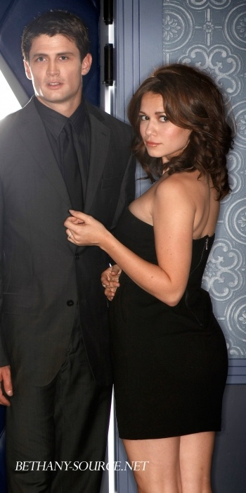 James Lafferty and Bethany Joy Lenz