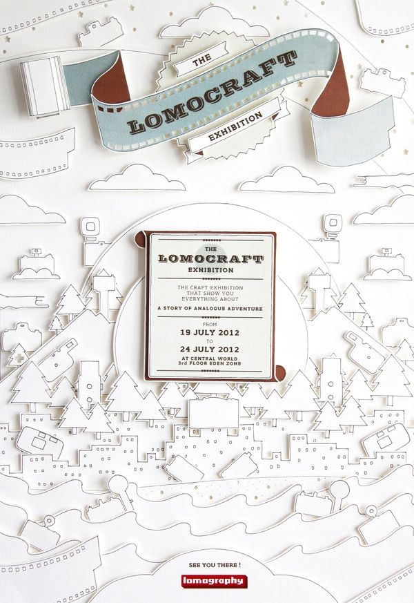 Lomocraft exhibition poster design | MyDesy Amoy inspiration