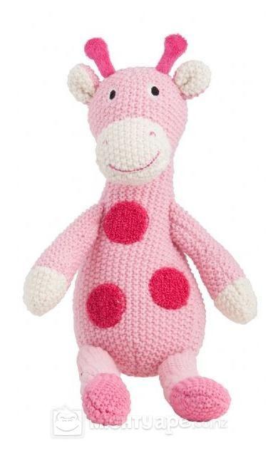 Lily & George Gertie Giraffe Toy