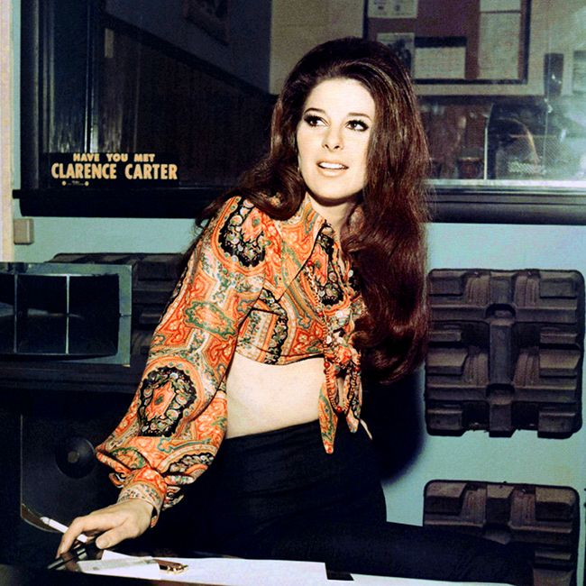 """andygarthb: """" Bobbie Gentry whilst she was recording at Muscle Shoals for her 1970 album 'Fancy'. """""""
