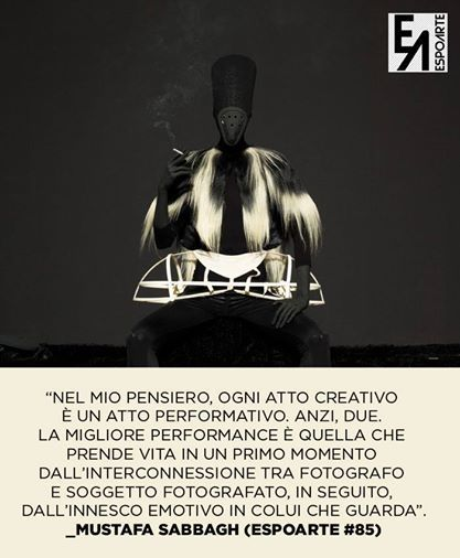 su #Espoarte85 - [Mustafa Sabbagh, Senza titolo, 2014, stampa lambda, cm 80x100, ed. 5 + 1 pda. Courtesy: Mustafa Sabbagh]