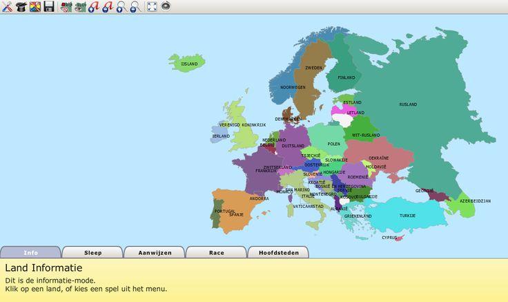 Topografie oefenen waarbij je zelf kunt kiezen welke landen en/ of steden je wilt oefenen.  Website: http://www.dadsproject.com/TopoMania/topomania.php?i=nl&m=nl&n=europe&r=-1&s=c990770d199489e8cec102badd357270