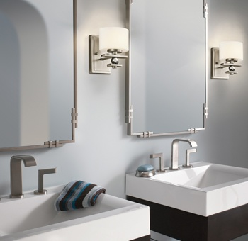 Antique Bathroom Lighting Ideas 47 best bathroom lighting ideas images on pinterest | bathroom