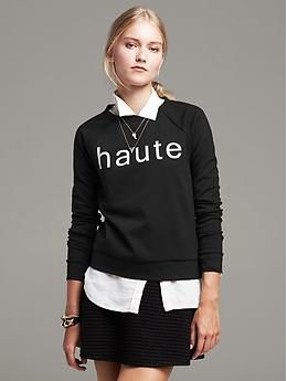 """Haute"" Pullover"