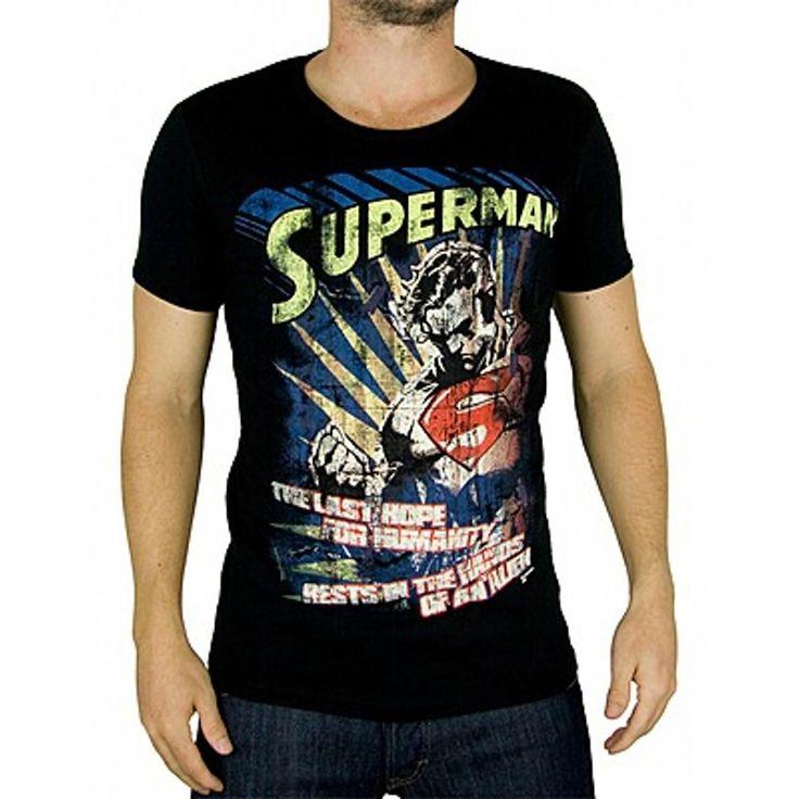 Marvel Comics mens T-shirt Superman