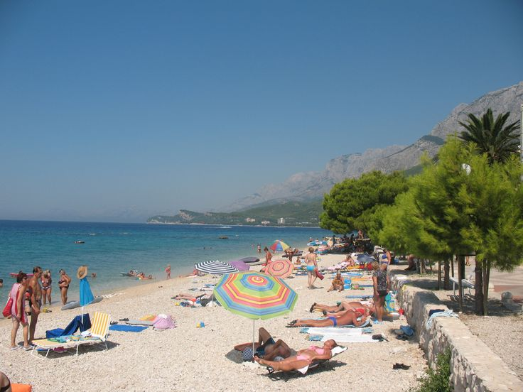 This is my favourite beach in Tučepi.