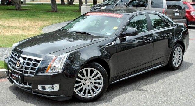 2012 Cadillac Cts 4 Premium Sedan Pearl Black 2012
