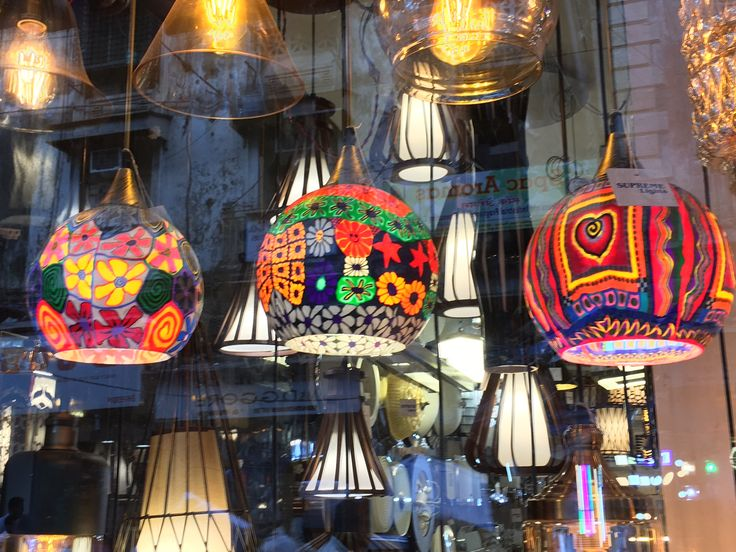 Light up your life. These colourful shades at Crawford Markets in #Mumbai will make a stunning feature in your home.