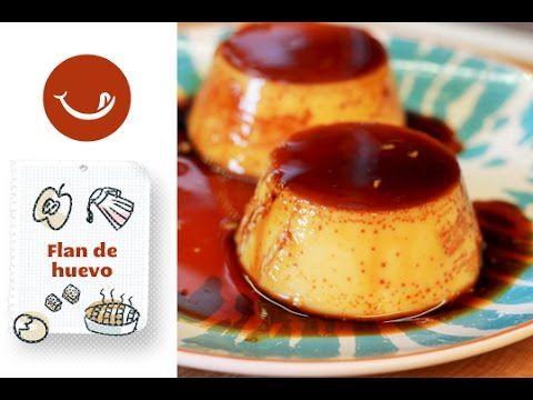 Flan de huevo casero y fácil - Recetasderechupete.com