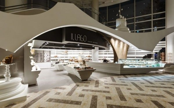 The IL Lago Bakery and Wine Shop inside the MVL Hotel in Goyang City, South Korea.