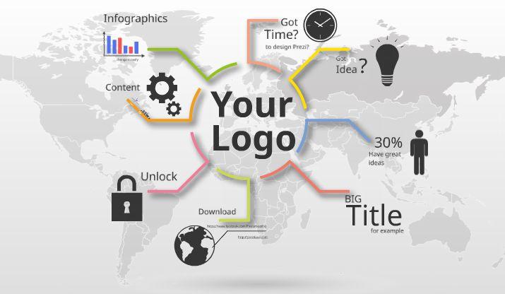 Infographic report - Prezi template http://preziland.com/