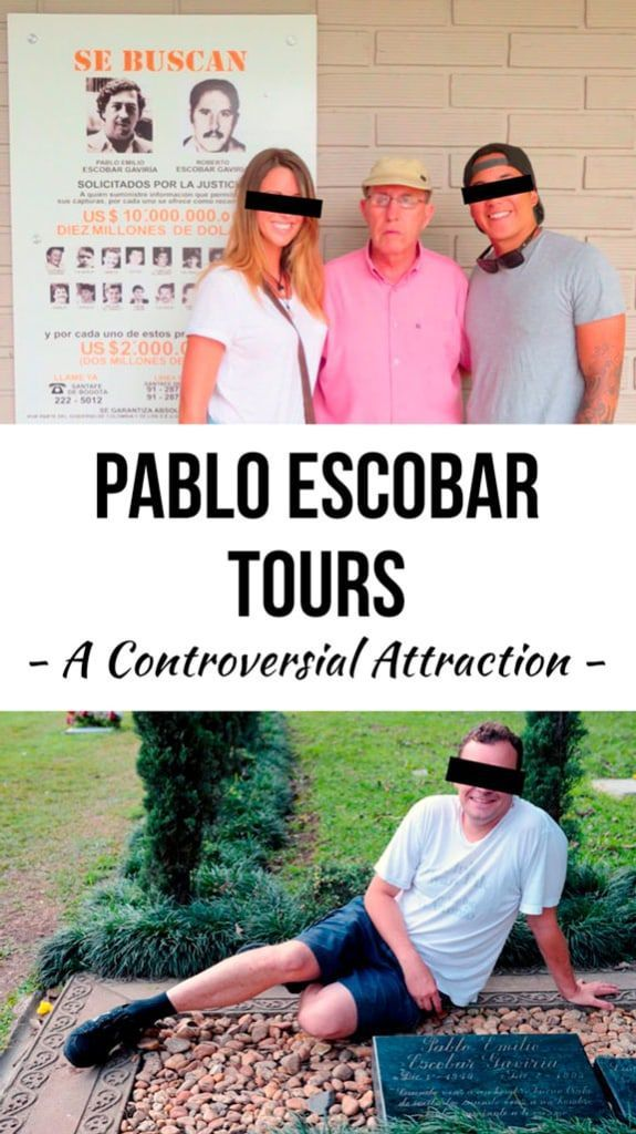 The Pablo Escobar Tour has become one of the most notable attractions in the city of Medellin, Colombia, but many local Colombians have grown to resent this growing segment of tourists which seems to idolize a man who terrorized their country and destroyed its reputation.