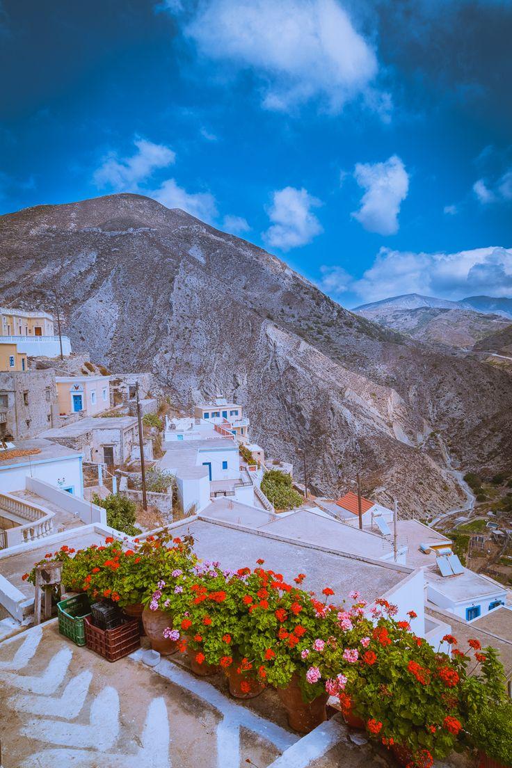 Olympos village, Karpathos island