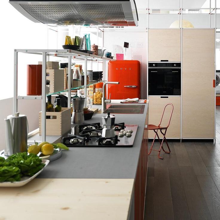 Meccanica - Gabriele Centazzo - demode by Valcucine #kitchen