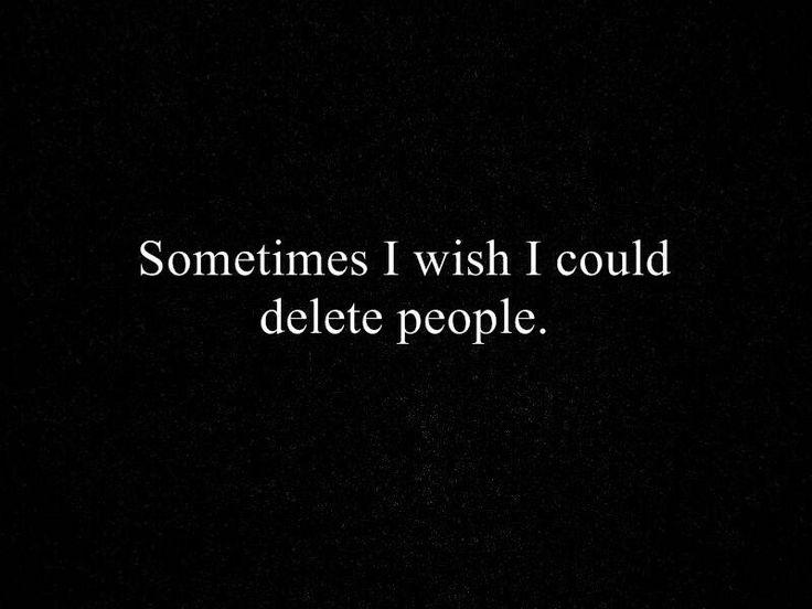 #delete #quote #blackandwhite
